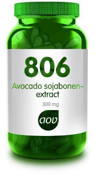 806 Avocado Sojabonen Extract 300 mg 60 capsules AOV