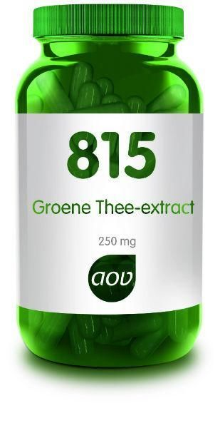 815 Groene Thee Extract 250 mg 180 capsules AOV