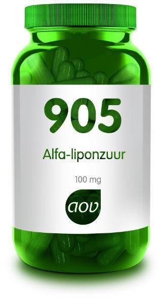 905 Alfa Liponzuur 100 mg 60 capsules AOV