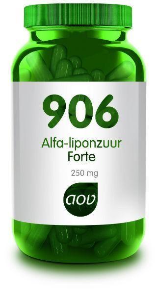 906 Alfa Liponzuur Forte 250 mg 60 capsules AOV