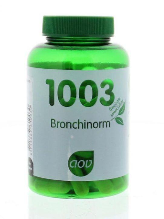 1003 Bronchinorm 60 plantaardige capsules AOV