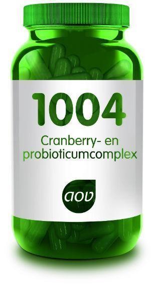 1004 Cranberry en Probioticum Complex 60 Capsules AOV