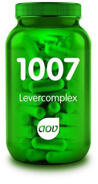 1007 Levercomplex 60 plantaardige capsules AOV