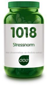 1018 Stressnorm 60 plantaardige capsules AOV