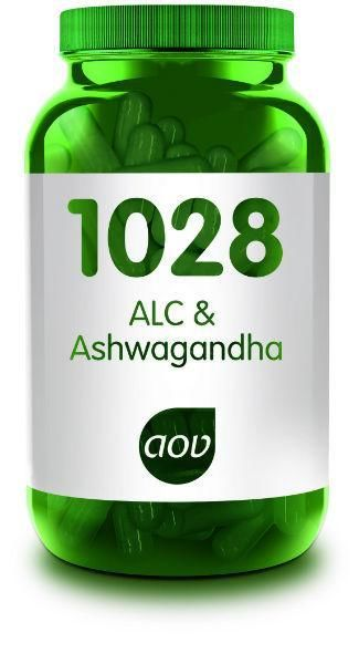 1028 ALC en Ashwagandha 60 capsules AOV