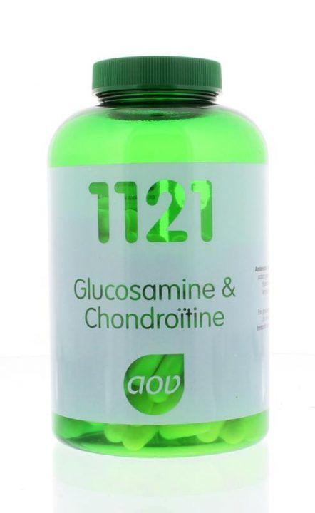 1121 Glucosamine en Chondroïtine 180 capsules AOV
