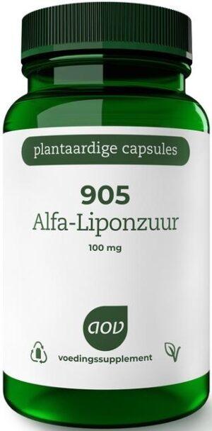905 Alfa Liponzuur 100 mg 60 capsules - AOV