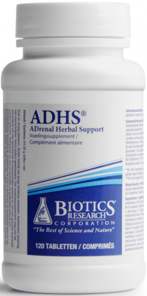ADHS Adrenal Herbal Support 120 tabletten Biotics