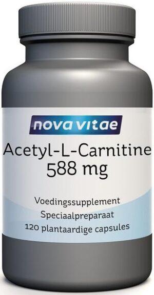 Acetyl-L-Carnitine 500 mg 120 capsules - Nova Vitae