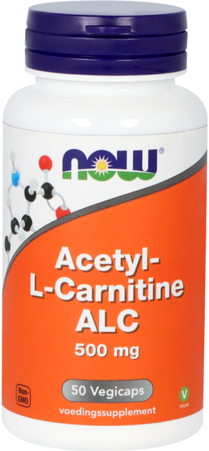 Acetyl-L-Carnitine 500 mg 50 capsules - Now