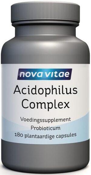 Acidophilus Complex 5 Miljard 180 capsules Nova Vitae