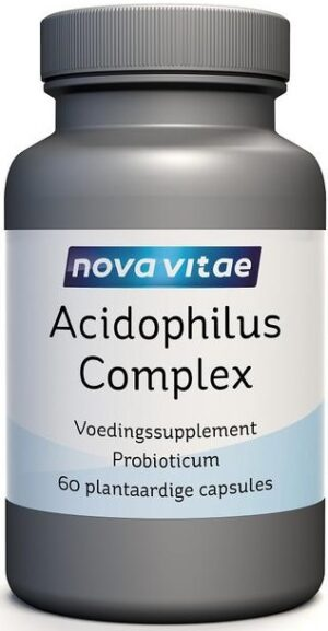 Acidophilus Complex 5 Miljard 60 capsules - Nova Vitae