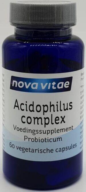 Acidophilus Complex 60 capsules Nova Vitae