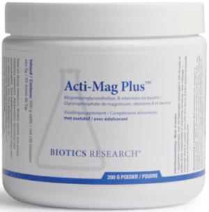 Acti-Mag Plus 200 gram poeder Biotics