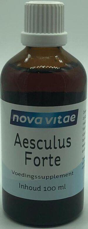 Aesculus Forte Tinctuur 100 ml Nova Vitae