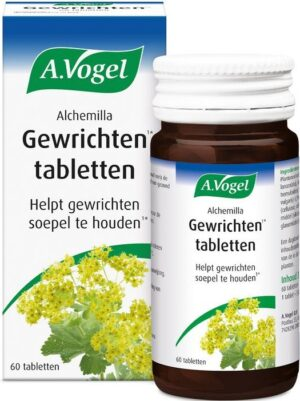 Alchemilla Gewrichten Tabletten 60 tabletten - A Vogel