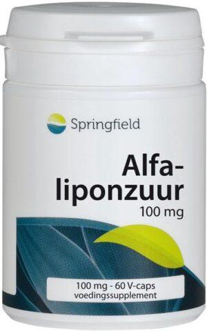 Alfa Liponzuur 100 mg 60 capsules - Springfield