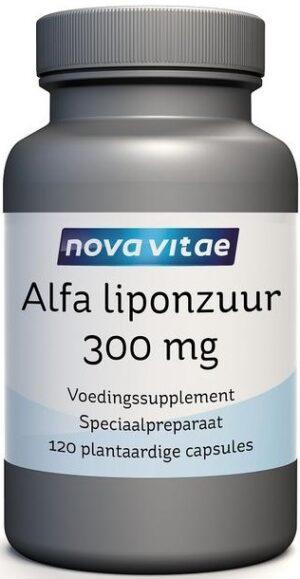 Alfa Liponzuur 300 mg 120 capsules Nova Vitae