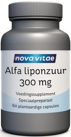 Alfa Liponzuur 300 mg 60 capsules Nova Vitae