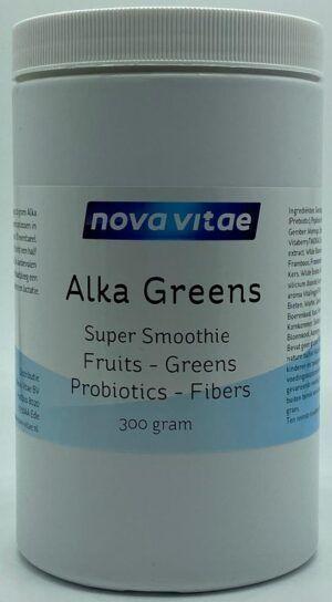 Alka Greens Super Smoothie 300 gram Nova Vitae
