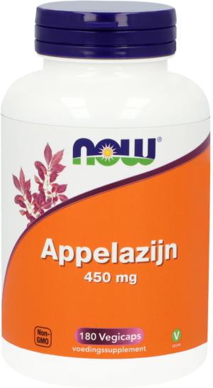 Appelazijn 450 mg 180 capsules - Now