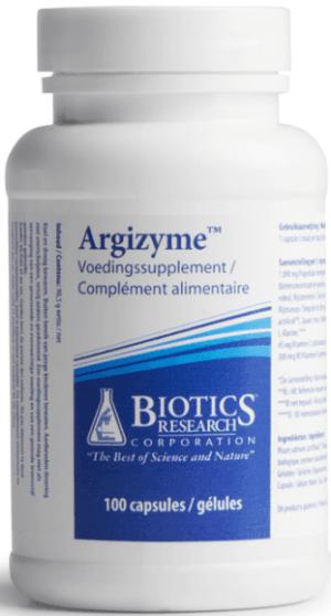 Argizyme 100 capsules Biotics