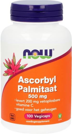 Ascorbyl Palmitaat 500 mg 100 capsules - Now