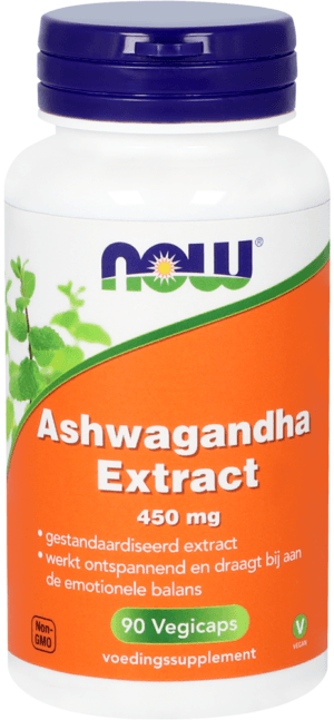 Ashwagandha Extract 450 mg 90 capsules Now