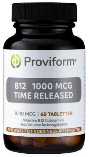 B12 1000 mcg Time Released 60 tabletten - Proviform