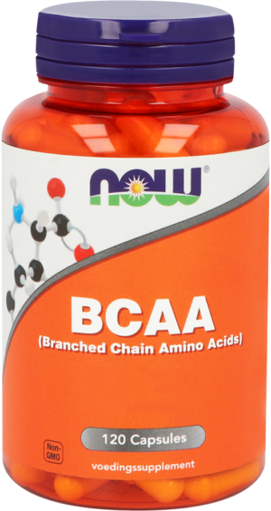 BCAA (Branched Chain Amino Acids) 120 capsules - Now