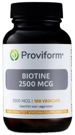 Biotine 2500 mcg 100 capsules - Proviform