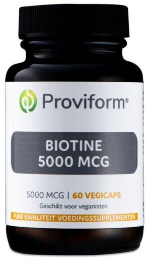 Biotine 5000 mcg 60 capsules - Proviform