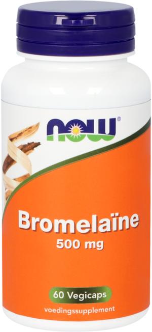 Bromelaine 500 mg 60 capsules - Now