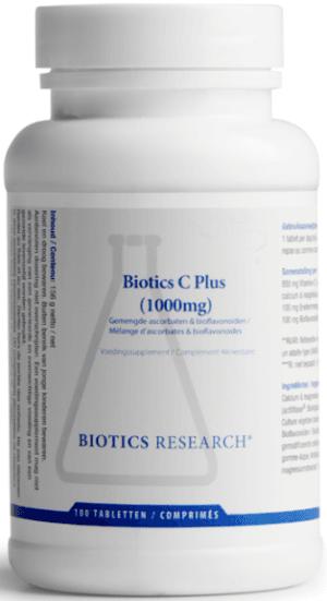 C Plus 1000 mg 100 tabletten Biotics