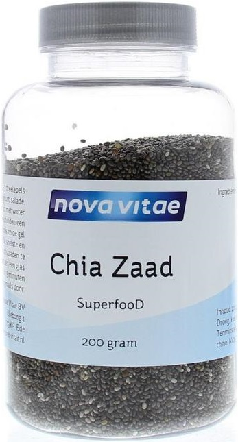 Chia Zaad Superfood 200 gram - Nova Vitae