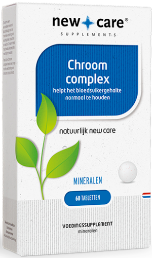 Chroom Complex 60 tabletten - New Care