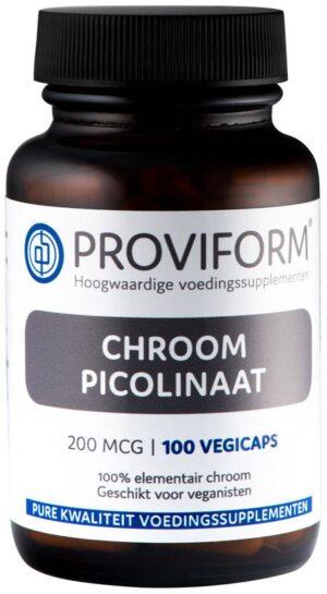 Chroom Picolinaat 200 mcg 100 capsules - Proviform