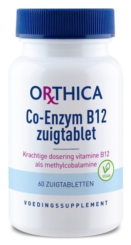 Co Enzym B12 60 zuigtabletten Orthica