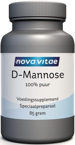 D Mannose Poeder 100% Puur 85 gram - Nova Vitae
