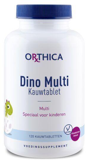 Dino Multi Kauwtabletten 120 kauwtabletten Orthica