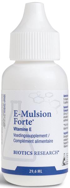 E Mulsion Forte 29,6 ml Biotics