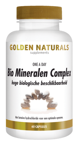 Bio Mineralen Complex Golden Naturals 60 capsules