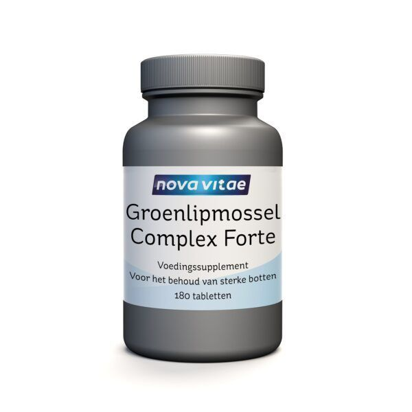 Groenlipmossel Complex Forte 180 tabletten Nova Vitae