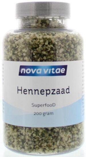 Hennepzaad Superfood 200 gram Nova Vitae