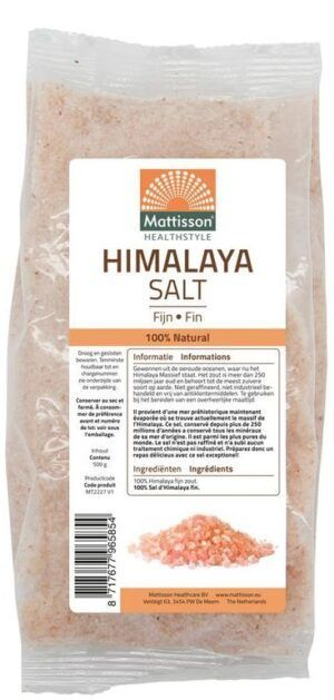 Himalaya Zout Fijn 500 gram - Mattisson