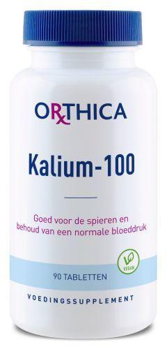 Kalium100 90 tabletten Orthica