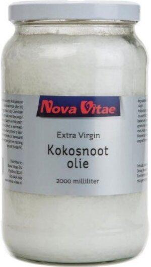 Kokosnootolie Extra Virgin 2000 ml - Nova Vitae