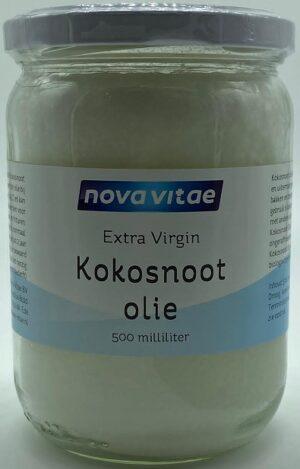 Kokosnootolie Extra Virgin 500 ml - Nova Vitae