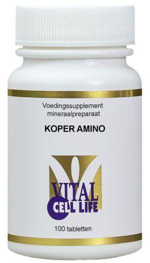 Koper Amino 100 tabletten Vital Cell Life