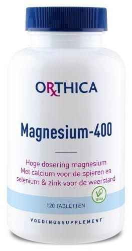 Magnesium 400 120 tabletten Orthica